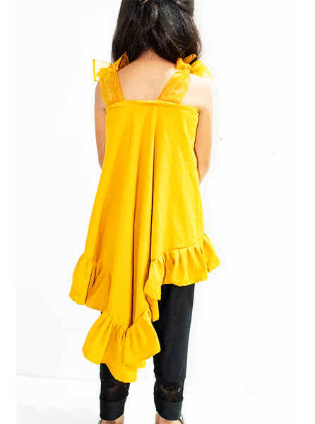 Triangular mustard top