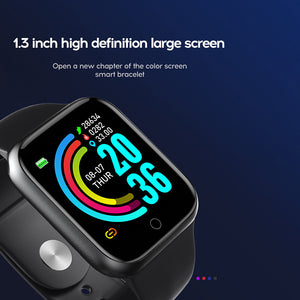 Smart Watch for iOS and Android Heart Rate Monitor Blood Pressure Sports Tracker
