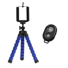 Load image into Gallery viewer, Small Tripod for Smartphones Remote Controlled