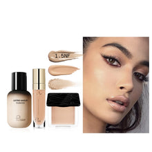 Load image into Gallery viewer, Pudaier Face Foundation Makeup Set Liquid Foundation Cream Matte Foundation Base Face Concealer