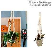 Load image into Gallery viewer, Handmade Macrame Plant and Flower Hanger
