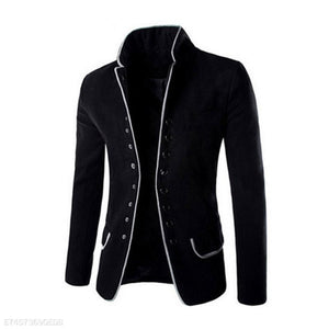 Men's Stand Collar Casual Coat