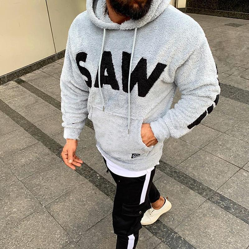 Fashion Soft Comfortable Hooded Fleece Sweatshirt