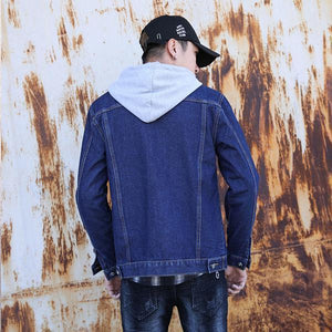 Denim Jacket Slim Trend Casual Denim Jacket Men's Spring Top