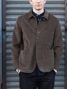 Contracted Temperament Pure Colour Jacket