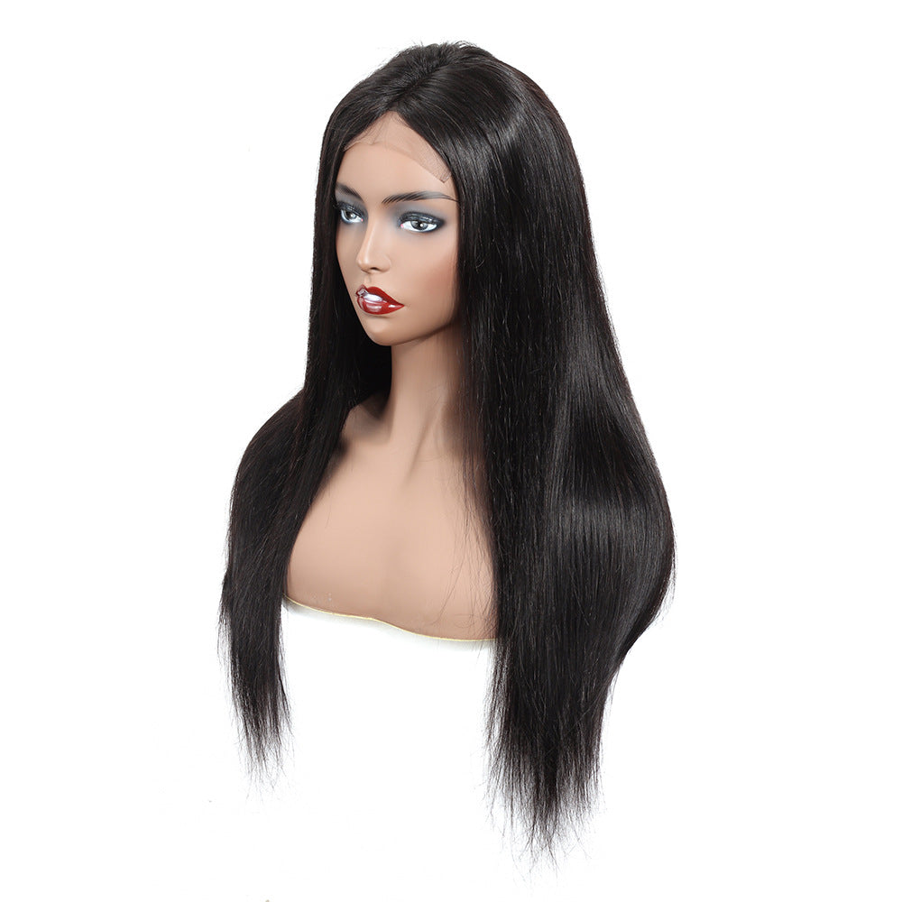 Alissa Straight Hair Lace Front Wig 13X4 100% Virgin Human Hair Wigs