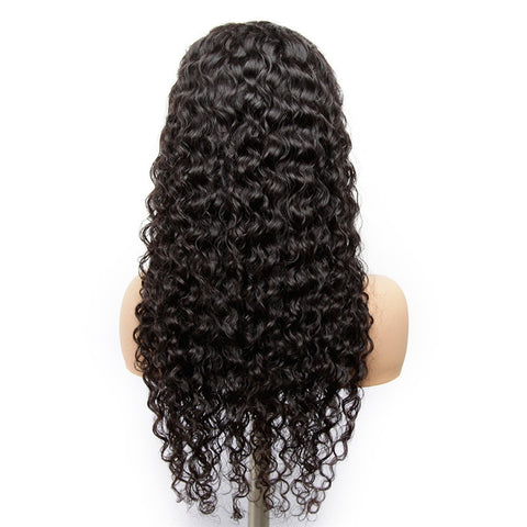 Alissa Water Wave Lace Front Wig 13X4 100% Virgin Remy Human Hair