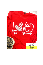 Load image into Gallery viewer, Red Love Tee