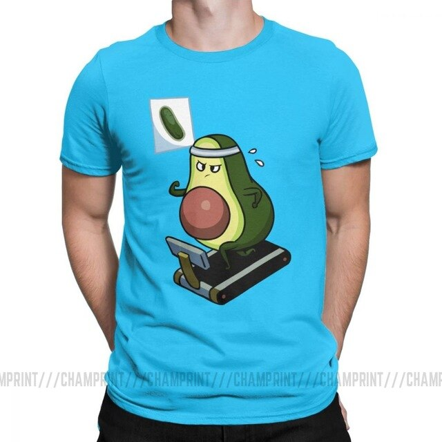 Men's Avo-Cardio Funny Avocado T-Shirt