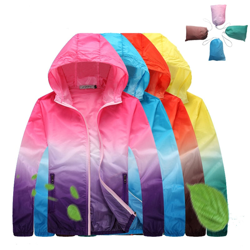 4XL New Anti-UV Ultralight Thin Skin Jackets