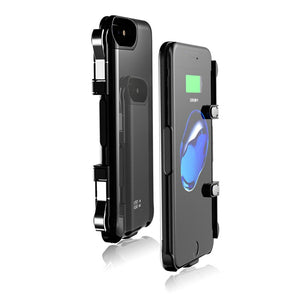 L1R1 iPhone Case with Built-in Triggers & Power Bank - Gadget Blu