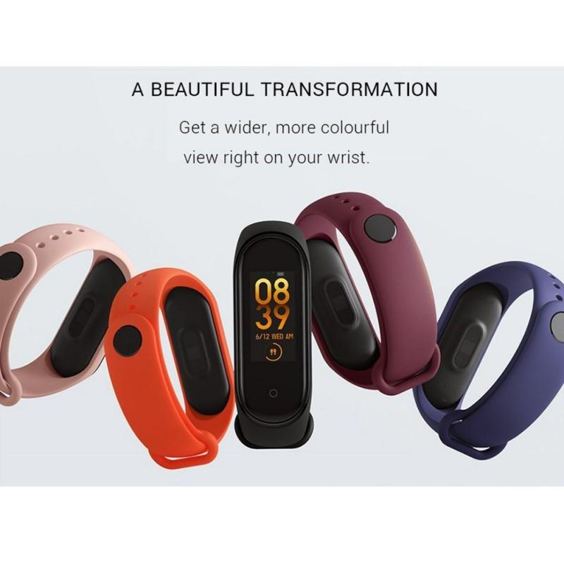 Mi Band 4 Music Smart Bluetooth5.0 50M - Gadget Blu