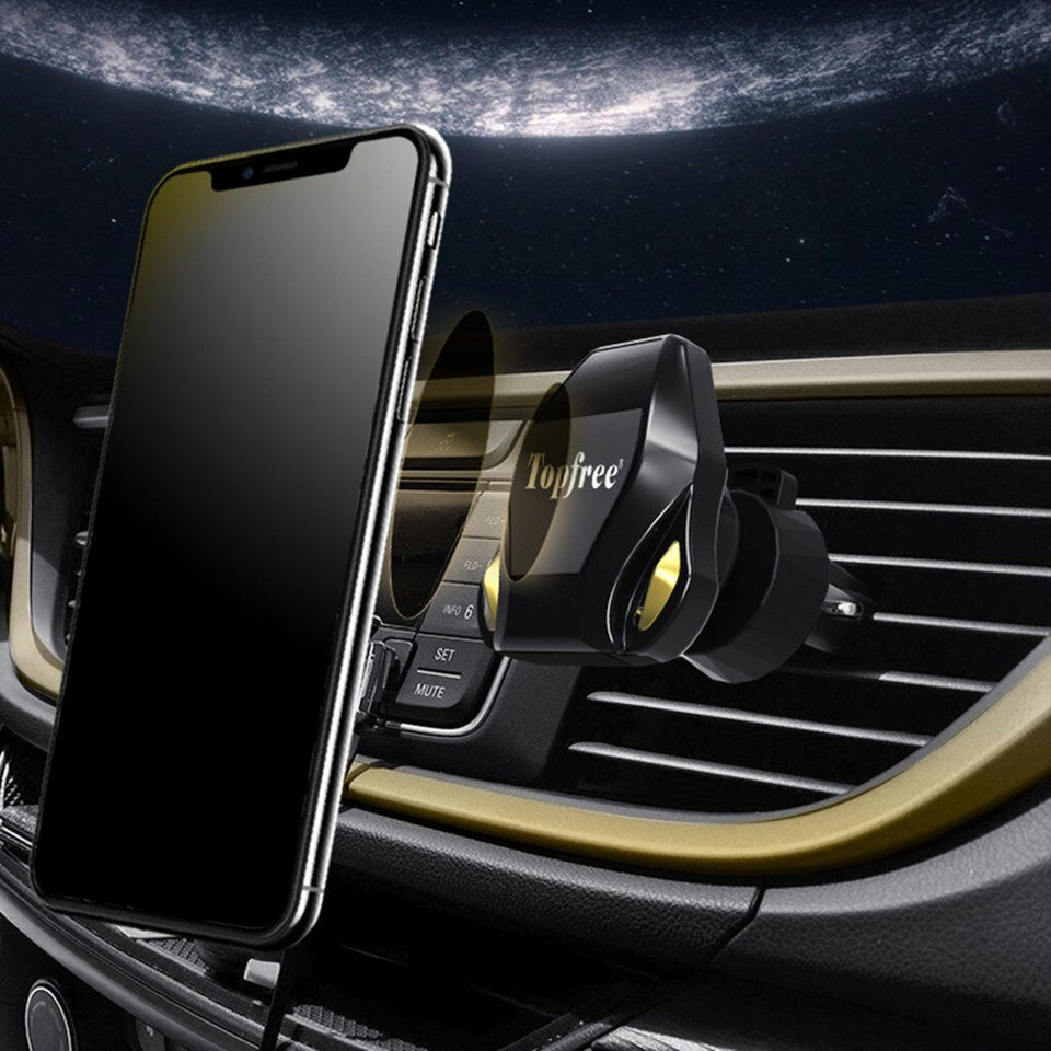 Car Air Vent Mount Magnetic Phone Holder - Gadget Blu