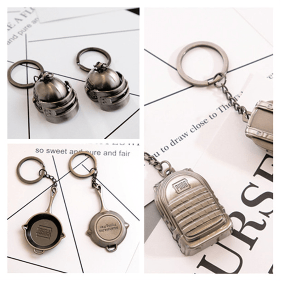 PUBG Key Chains - Gadget Blu
