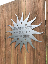 Load image into Gallery viewer, Custom metal sun sign