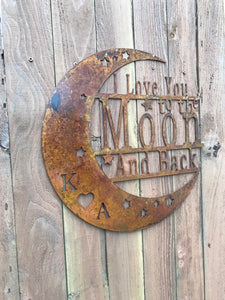 Custom metal sign wall art