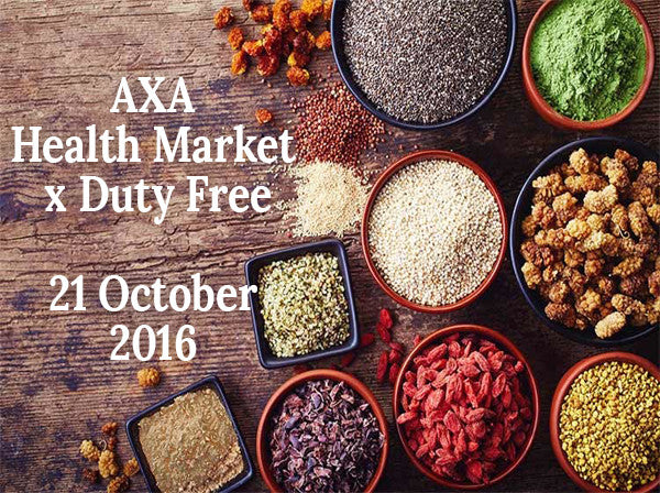 [21 October 2016] AXA HEALTH MARKET WITH DUTYFREE