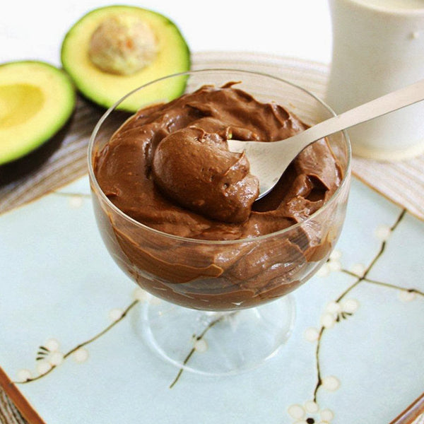 Raw Vegan Superfood Chocolate Pudding