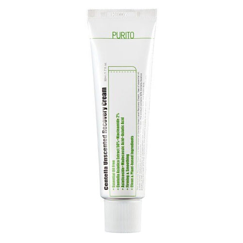 CENTELLA UNSCENTED RECOVERY CREAM-Kremai-Purito-SkinGlow.lt