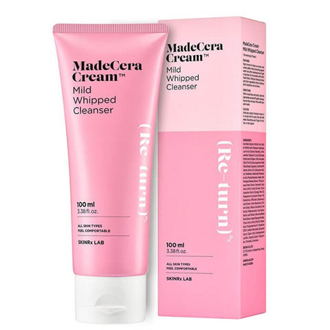 MADECERA CREAM MILD WHIPPED CLEANSER