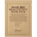SNAIL BEE HIGH CONTENT MASK PACK-Kaukės-Benton-SkinGlow.lt