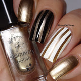 #51  Bring on the Bubbly - Nail Stamping Color (5 Free Formula)
