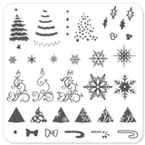 Christmas Tree (CjSC-01) - Steel Stamping Plate