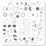 Autumn Solstice (CjS-168) Steel Stamping Plate
