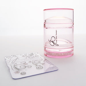 Big Bling XL Stamper - Pink (clear)