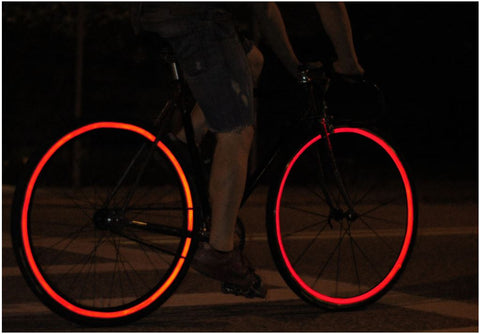 bike reflective wheel strips