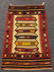 Handmade Wool Runner Hittite Design - Hittite Home