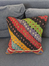 Load image into Gallery viewer, Recycled Rug Zig Zag Cushion Case - Hittite Home