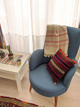Load image into Gallery viewer, Striped Cushion Cover from Recycled Rug - Hittite Home