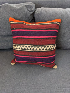 Striped Cushion Cover from Recycled Rug - Hittite Home