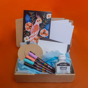 January Box 2021 - Posca Paint Markers