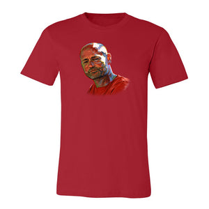 Gord Portrait Shirt: Unisex (Red)