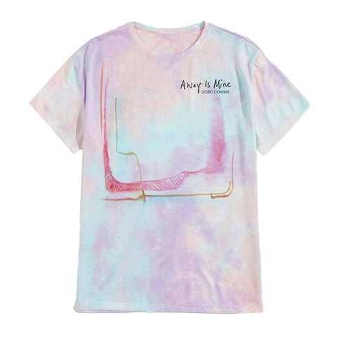 Away Is Mine Tie Dye T-shirt: Unisex