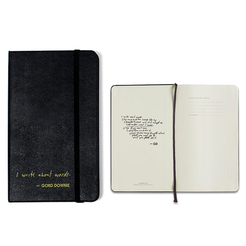 "Moleskine Notebook - ""I Write About Words"""