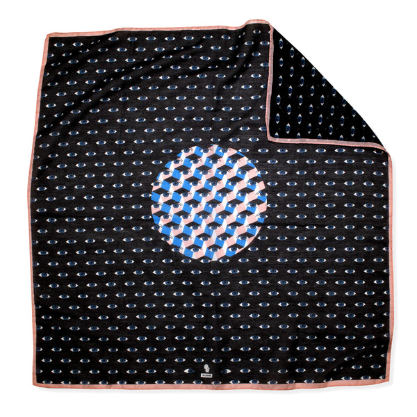 Blue Eyes Voile Bandana