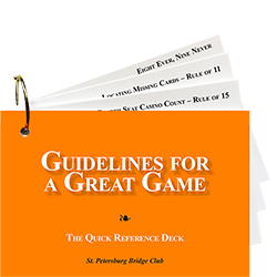 Guidelines for a Great Game