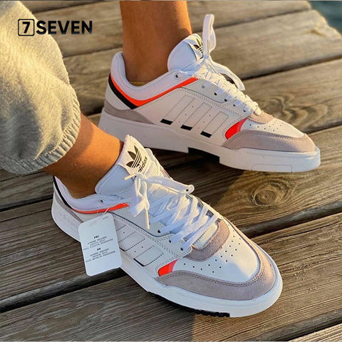 Adidas Drop Step Low White Orange