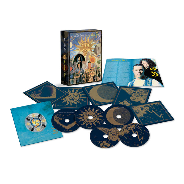 THE SEEDS OF LOVE - 4CD + BLU-RAY