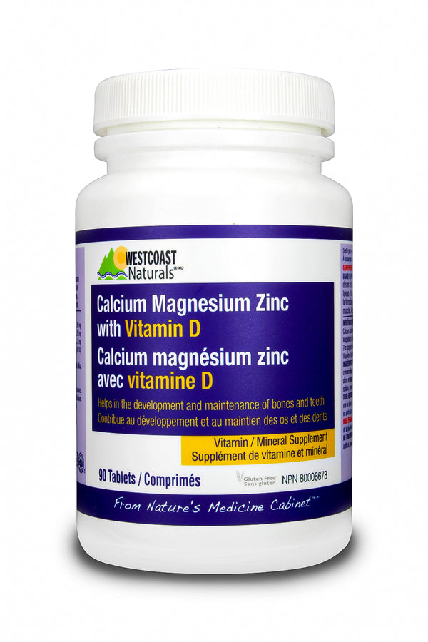 Calcium/Magnesium/Zinc With Vitamin D