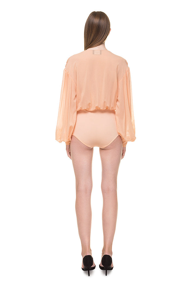 Peach Bodysuit
