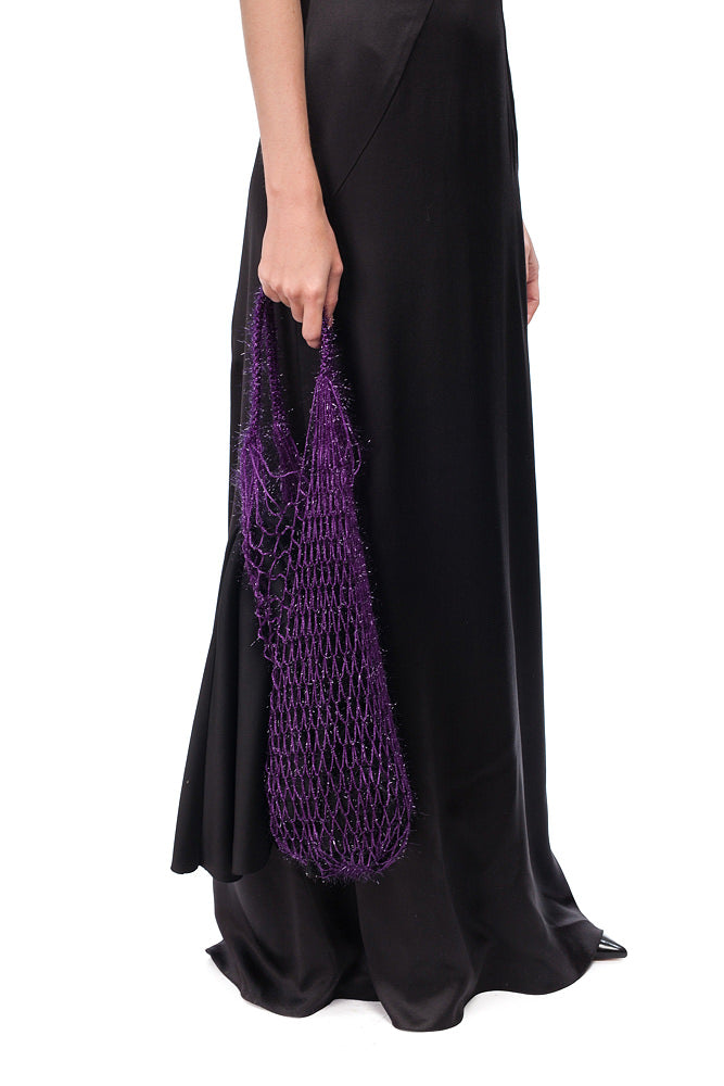 Ultraviolet String bag