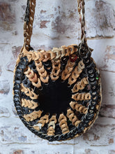 Load image into Gallery viewer, Vintage 70's Leather Circle Bag