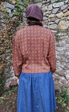 Load image into Gallery viewer, ** SOLD ** Vintage Amber Detail Blouse