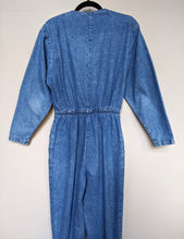 Load image into Gallery viewer, ** SOLD ** Vintage Denim Jumpsuit
