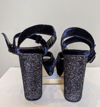 Load image into Gallery viewer, ** SOLD ** KURT GEIGER Navy Velvet 'Carvela' Shoes