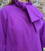 Load image into Gallery viewer, ** SOLD ** Vintage Magenta Swing Coat